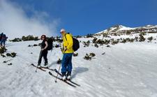 Ski tour to Bezbog peak image.
