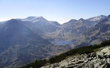 image hiking to Bezbog peak