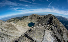 image hiking to Musala peak